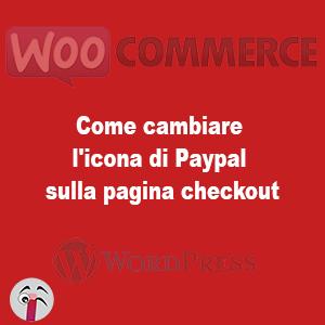 Come cambiare l'icona di Paypal sulla pagina checkout