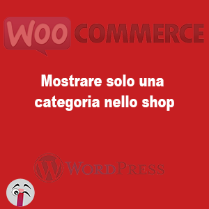 Mostrare solo una categoria nello shop