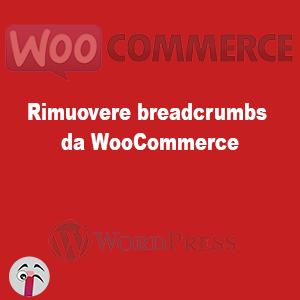 Rimuovere breadcrumbs da WooCommerce