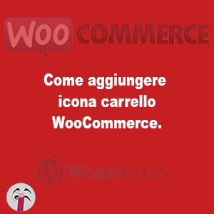 aggiungere icona carrello WooCommerce