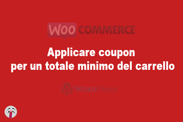 Applicare coupon per un totale minimo del carrello